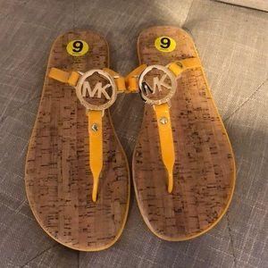 Michael Kors Flip Flops NWOT